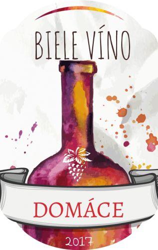 Víno etiketa samolepka 044m