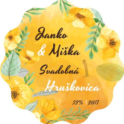 Samolepiaca etiketa na svadobnú hruškovicu_025
