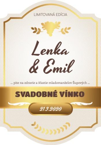 Svadobne Víno etiketa samolepka alkohol_006