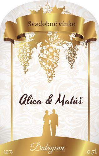 Samolepiaca etiketa na svadobné víno_035